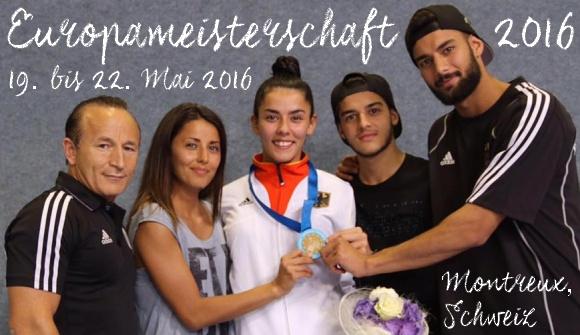 Europameisterschaft 2016 in Montreux - Titel