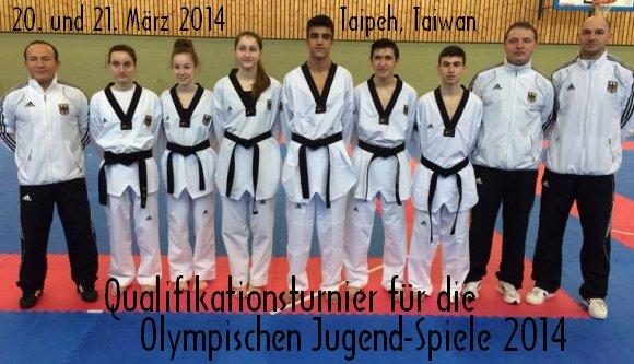Qualifikationsturnier für die Olympischen Jugend-Spiele 2014 in Taipeh - Titel