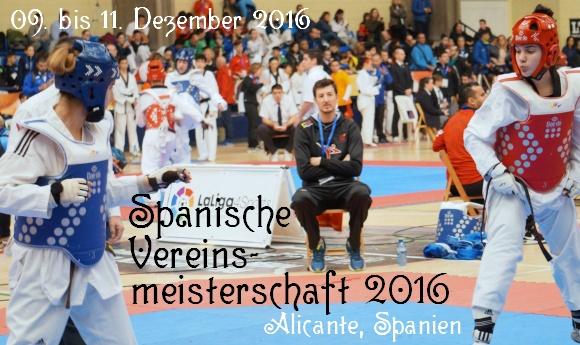 Spanische Vereinsmeisterschaft 2016 in Alicante - Titel