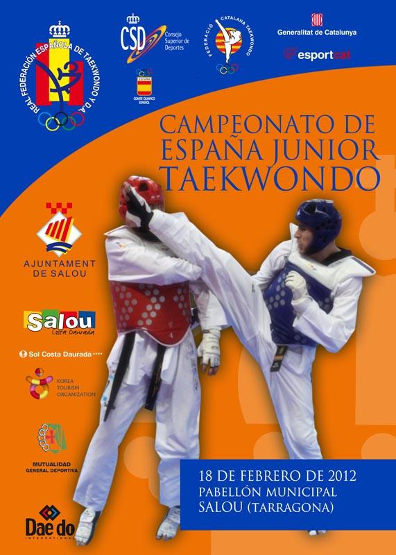 Plakat Spanische Meisterschaft Jugend A 2012
