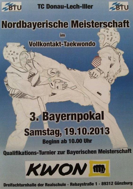 Plakat 3. Bayernpokal 2013