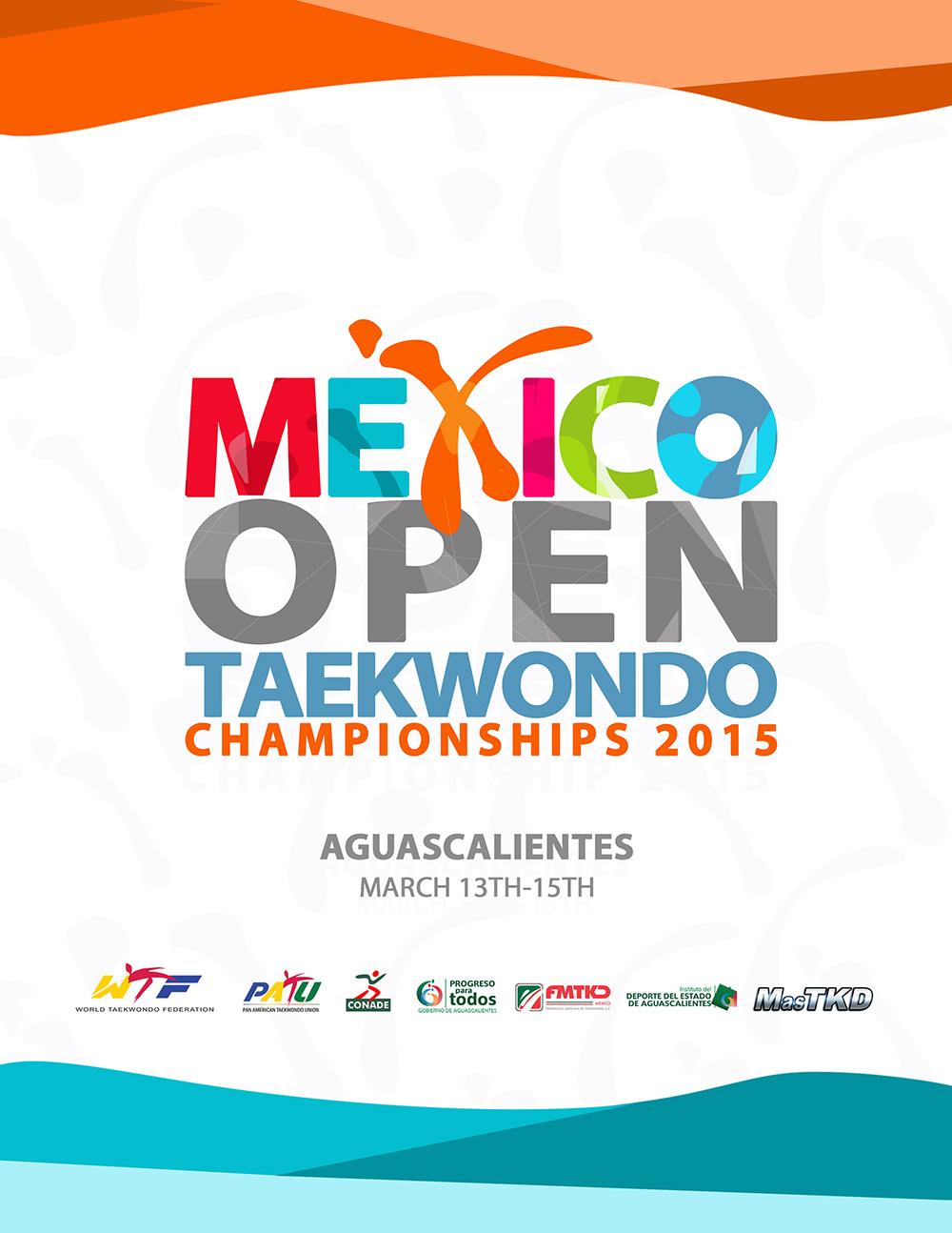 Plakat Mexico Open 2015