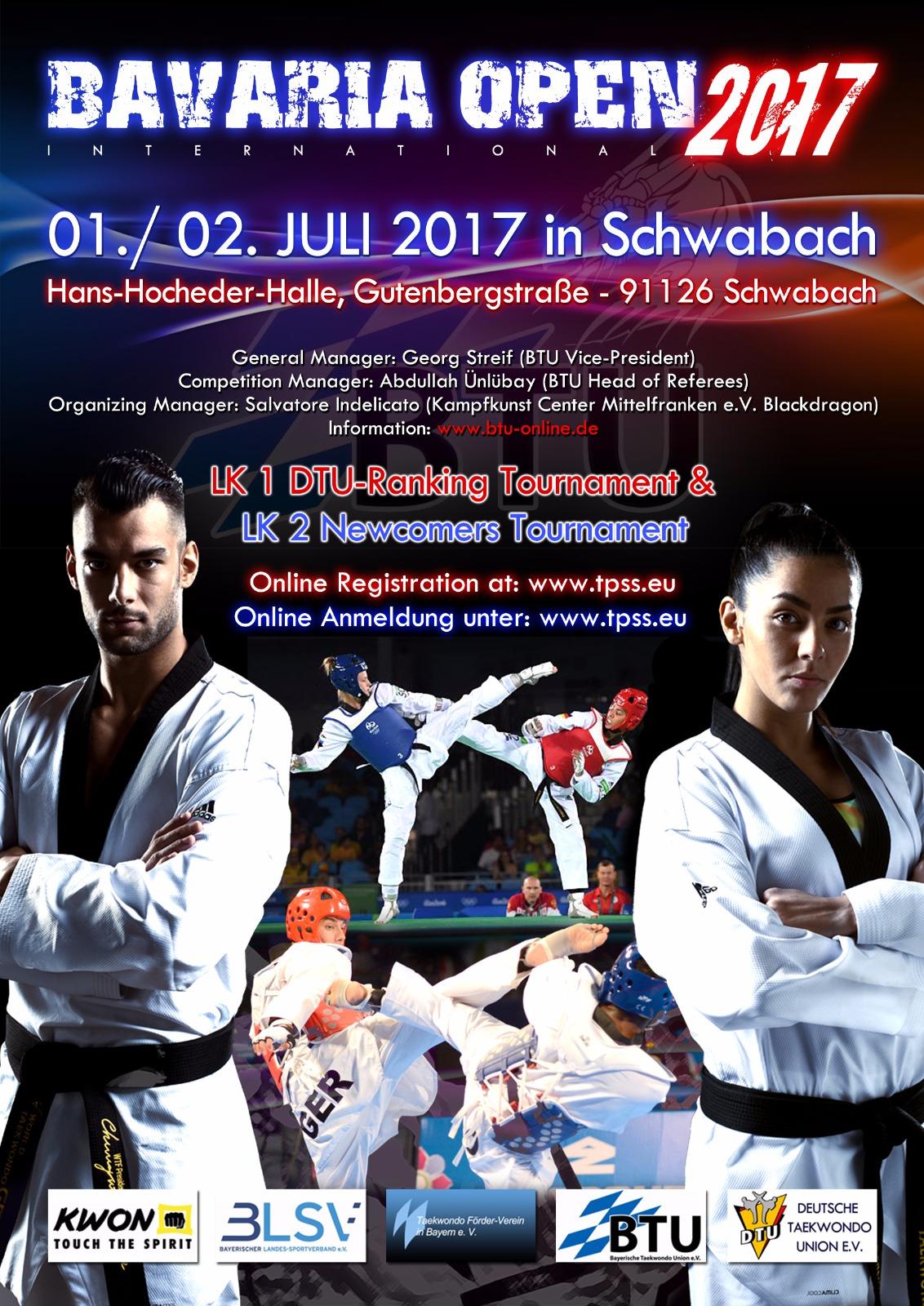 Plakat Bavaria Open 2017