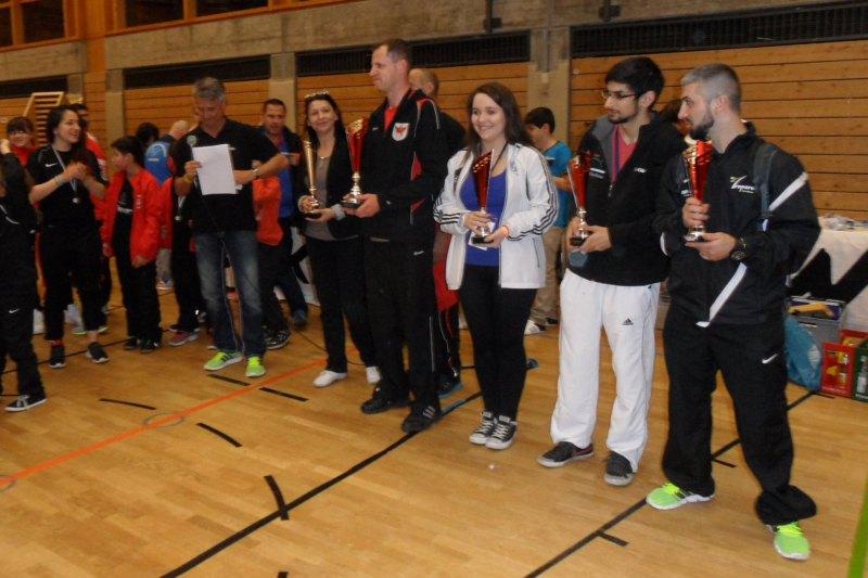 1. Bayernpokal 2014 in Roth - Siegerehrung für die Vereinswertung