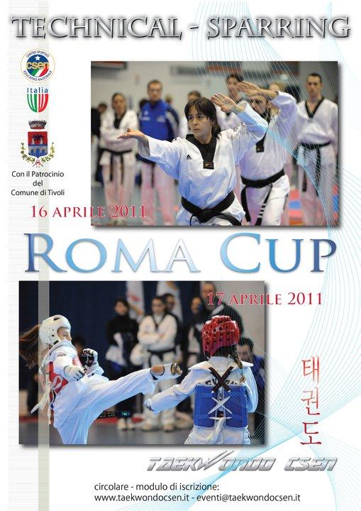 Plakat Roma Cup 2011