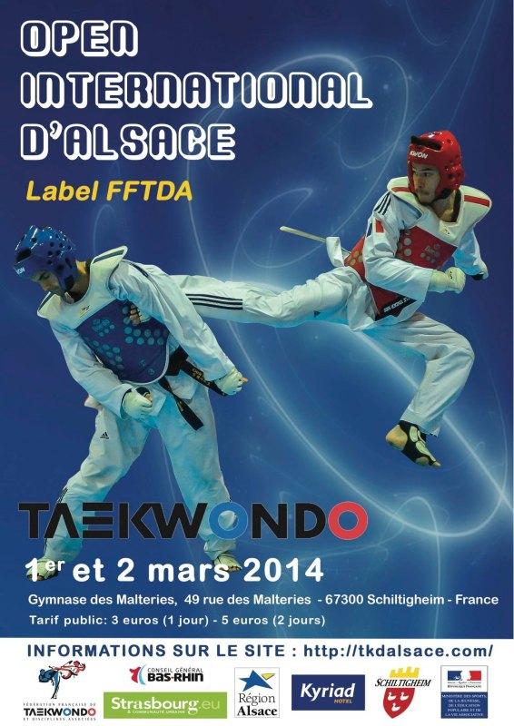 Plakat 18. International Alsace Open 2014