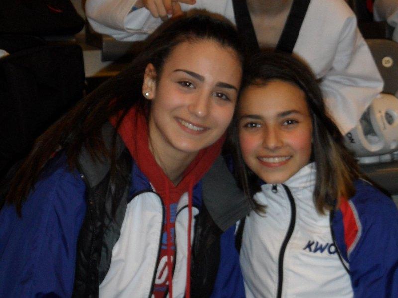 Belgian Open 2014 in Lommel - Sophia Karamangiolis und Sebil Kaya