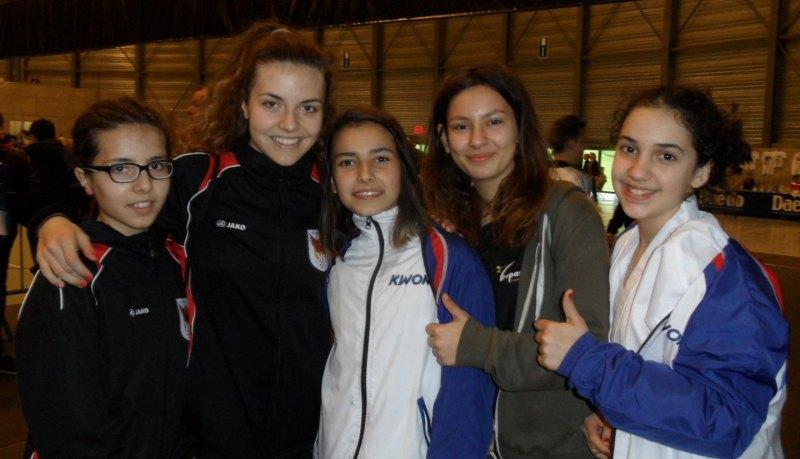 Belgian Open 2014 in Lommel - Isabella Killisperger, Vanessa Killisperger, Sebil Sara, Derya Schnabel und Chamutal Castano