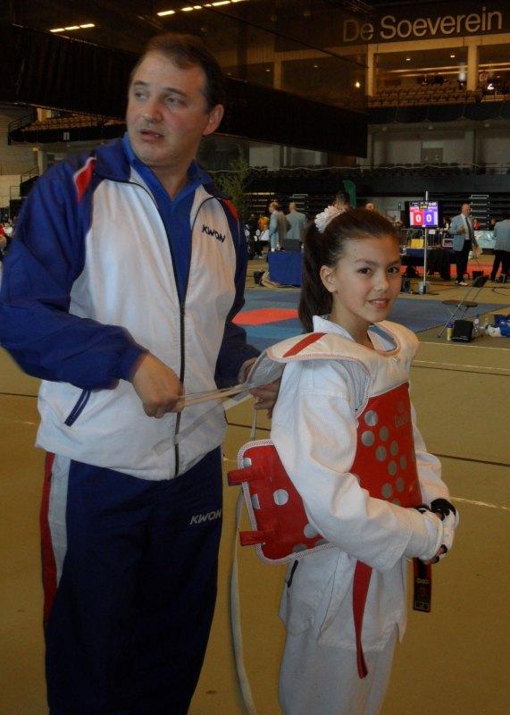 Belgian Open 2014 in Lommel - Nurettin Yilmaz mit Anja Kißkalt