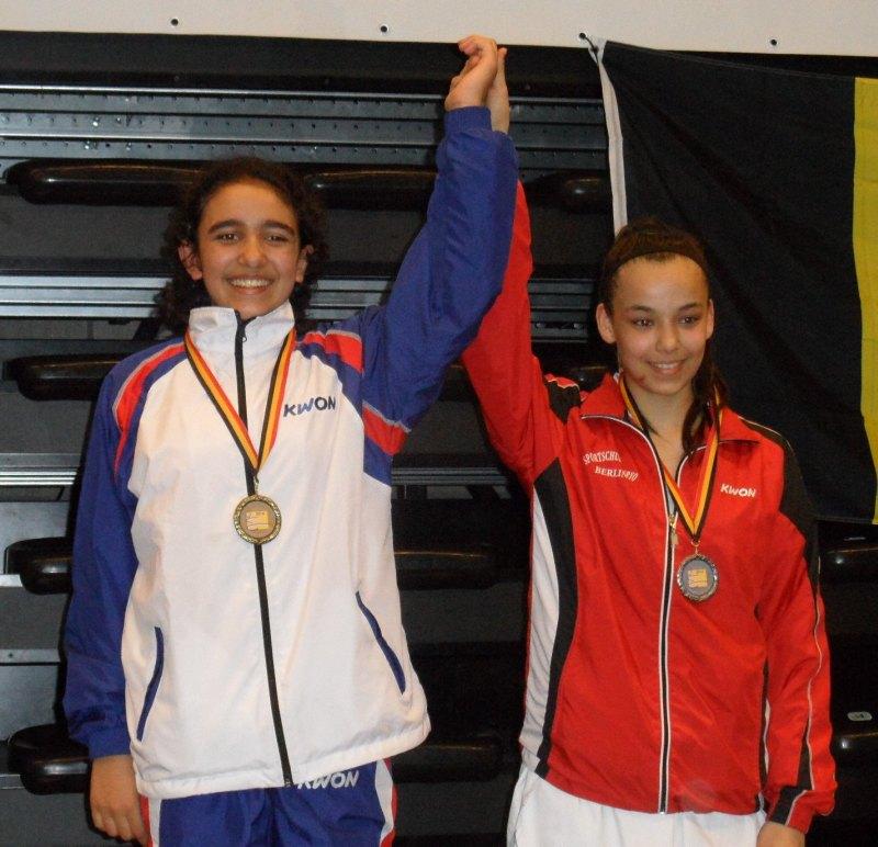 Belgian Open 2014 in Lommel - Selina Öztürk und Cigdem Danisman