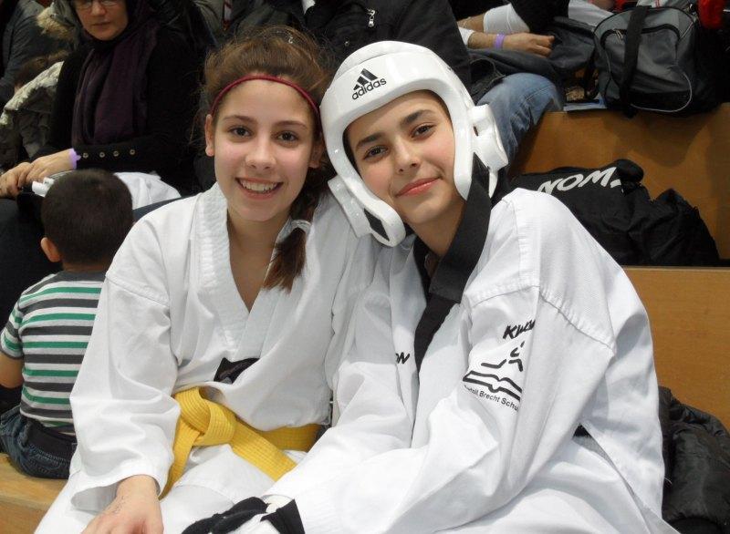 Creti Cup 2014 in Reutlingen - Beyza Basar und Sebil Kaya