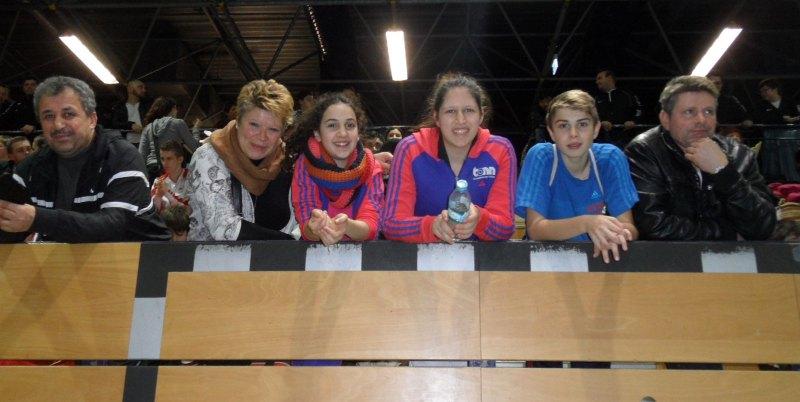 Creti Cup 2014 in Reutlingen - Mahmut Yorulmaz, Carina Rasch, Chamutal Castano, Rabia Yorulmaz, Kevin Rasch und Thomas Rasch