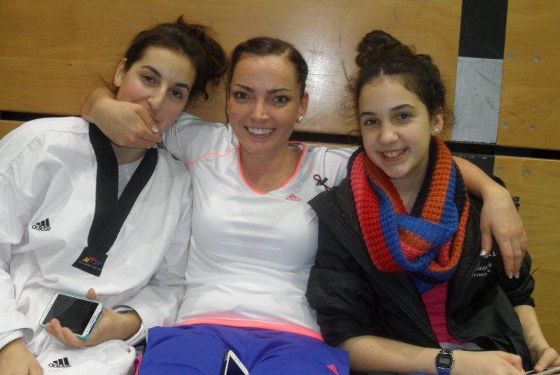 Creti Cup 2014 in Reutlingen - Arianna Danel, Vera Komrsova und Chamutal Castano