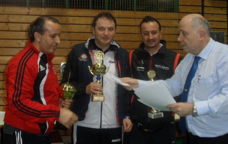 Creti Cup 2014 in Reutlingen - Siegerehrung für die Mannschaftswertung