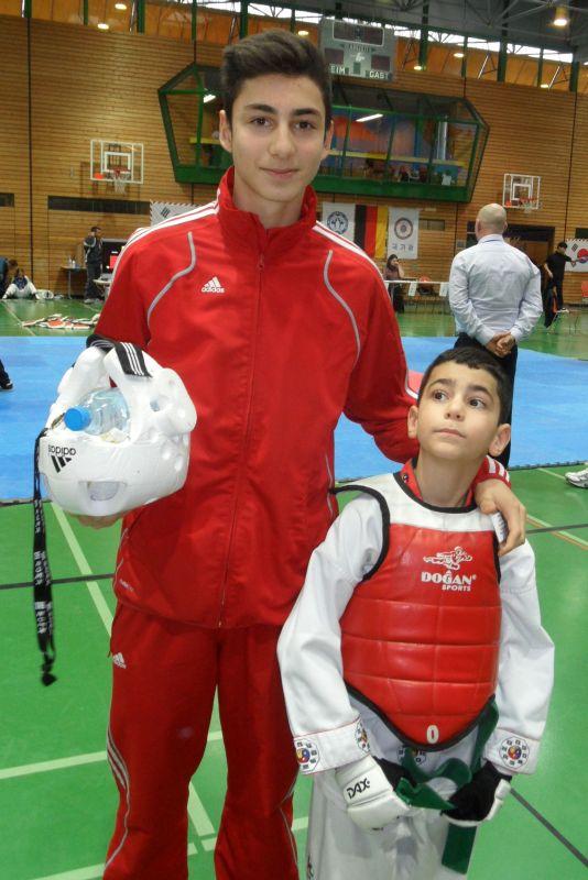 Creti Cup Reutlingen 2013 - Cansin Polat mit seinem Bruder Birkant Polat
