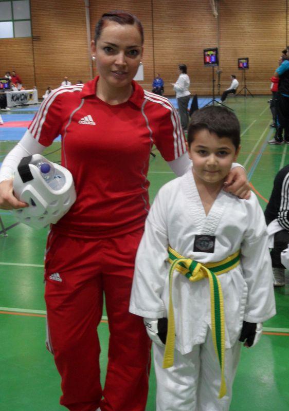Creti Cup Reutlingen 2013 - Ada Baydar mit Coach Vera Komrsova