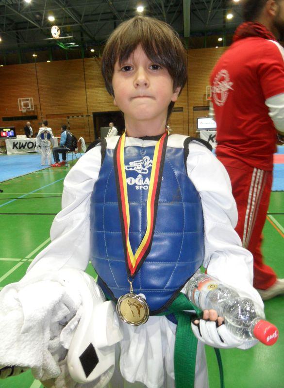 Creti Cup Reutlingen 2013 - Emre Tepe mit seiner Silbermedaille