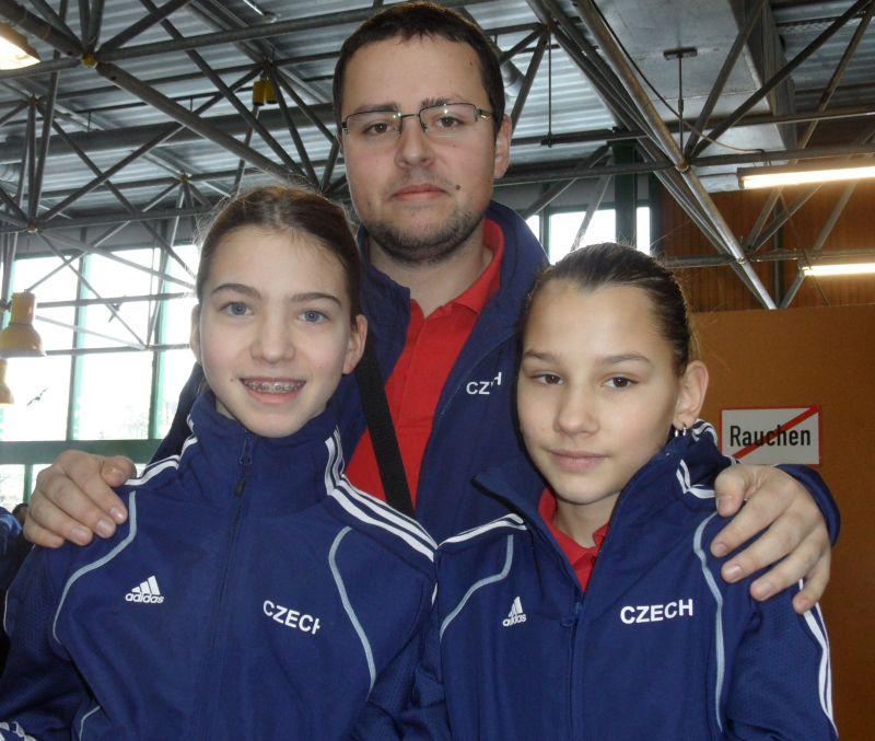Creti Cup Reutlingen 2013 - Michaela Kubikova und Katerina Kotkova