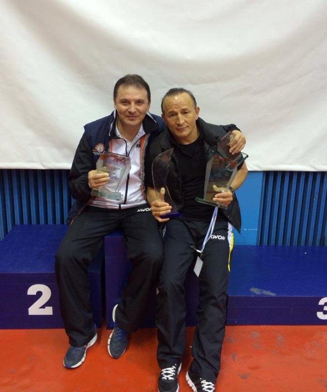 Croatia Open 2013 in Zagreb - Die beiden BTU-Landestrainer Nurettin Yilmaz und Özer Gülec