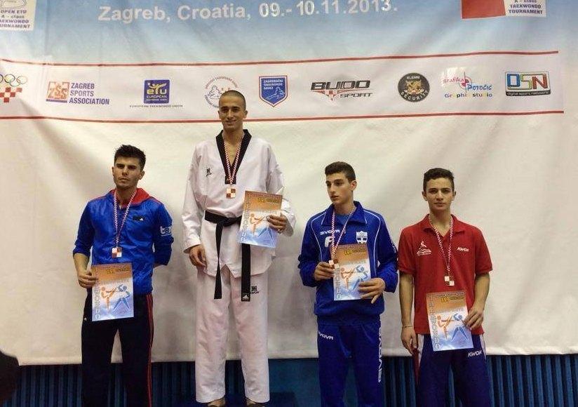 Croatia Open 2013 in Zagreb - Tayfun Yilmazer bei der Siegerehrung