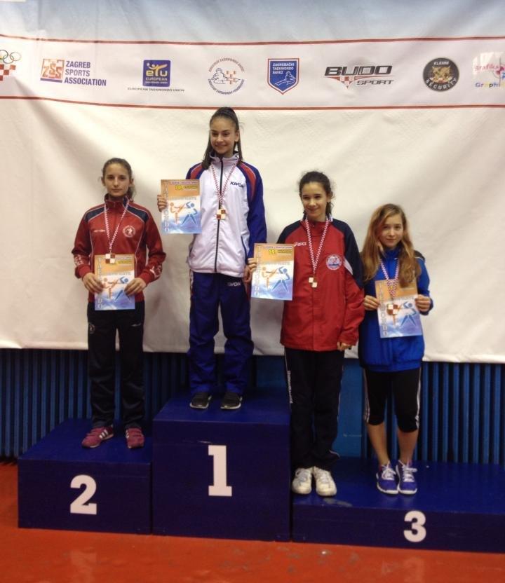 Croatia Open 2013 in Zagreb - Ela Aydin bei der Siegerehrung