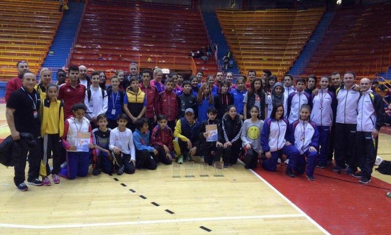 Croatia Open 2013 in Zagreb - Das BTU-Team und Sportler weiterer bayerischer Vereine