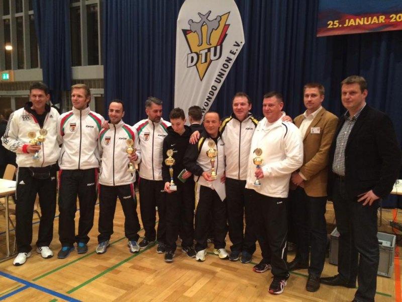 Deutsche Meisterschaft der Jugend A 2014 Pforzheim - Siegerehrung für die Verbandswertung