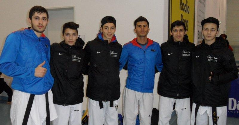 Deutsche Meisterschaft der Senioren 2014 in Gummersbach - Erol Yorulmaz, Yunus Koca, Birkant Polat, Tayfun Yilmazer, Mehmet Yorulmaz und Hasan Koca