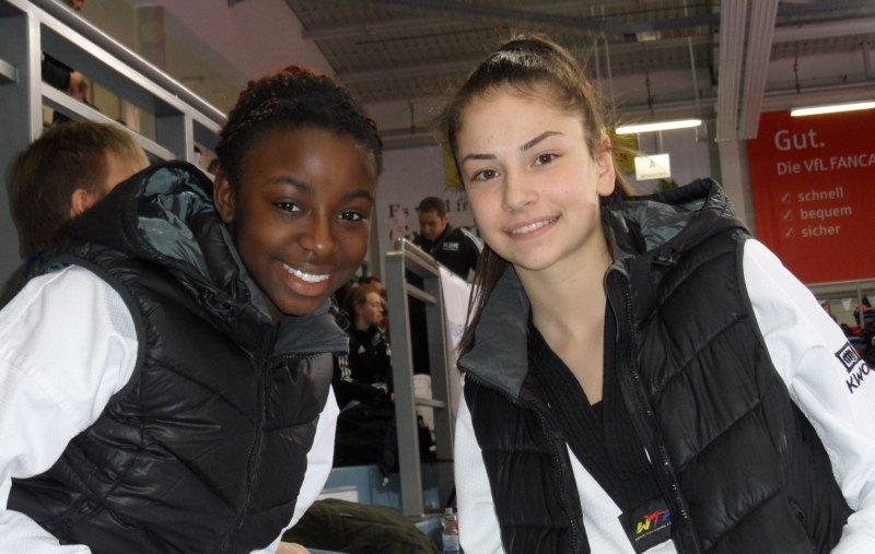 Deutsche Meisterschaft der Senioren 2014 in Gummersbach - Rhonda Nat und Ela Aydin