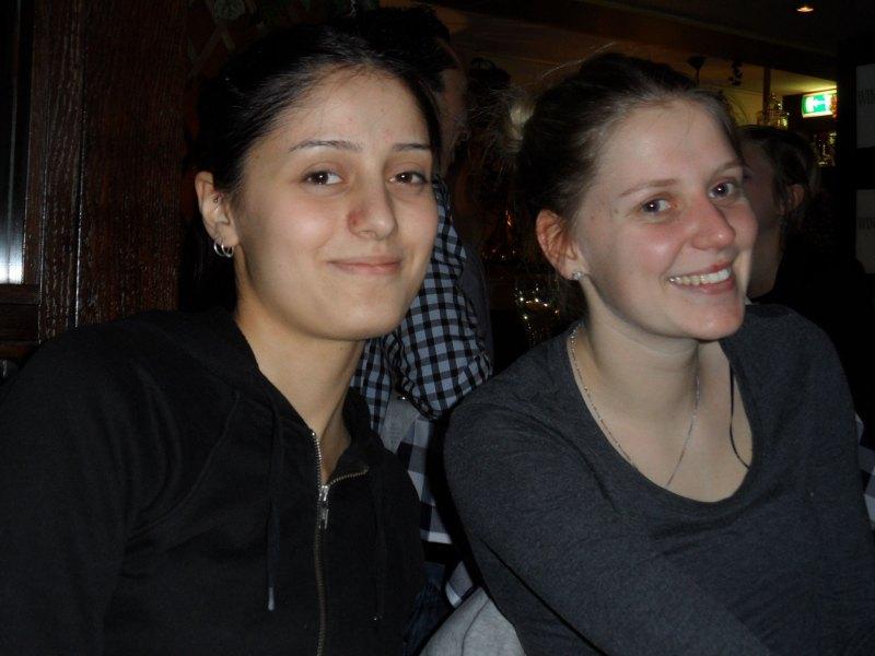 Dutch Open 2014 in Eindhoven - Burcin Kayhan und Anna-Lena Frömming