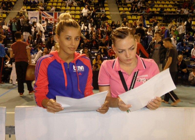 Dutch Open 2014 in Eindhoven - Sümeyye Manz und Vera Komrsova mit den Poollisten