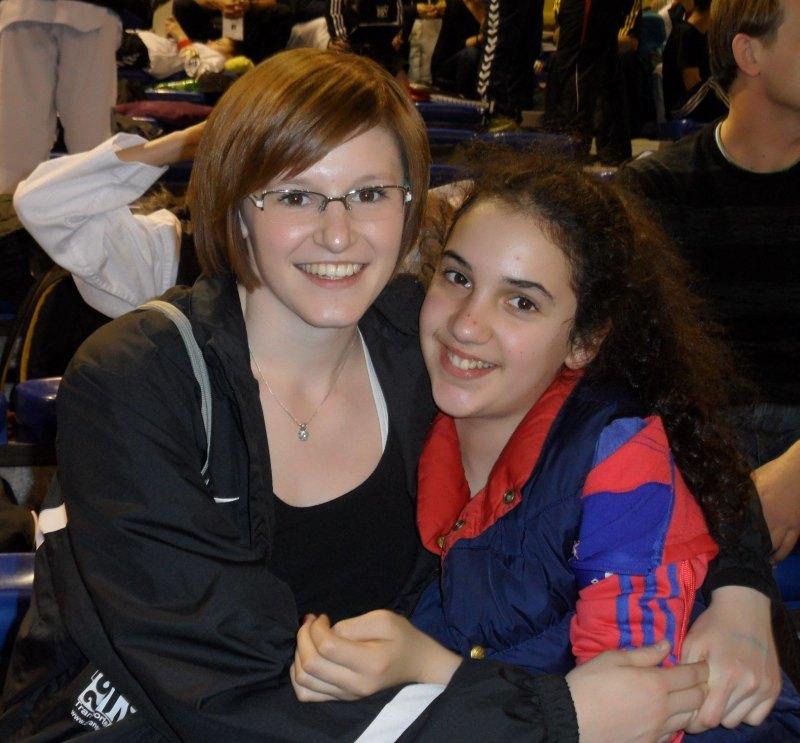Dutch Open 2014 in Eindhoven - Tamara Nothaft und Chamutal Castano