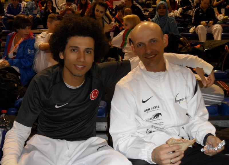 Dutch Open 2014 in Eindhoven - Servet Tazegül mit Sergej Kolb
