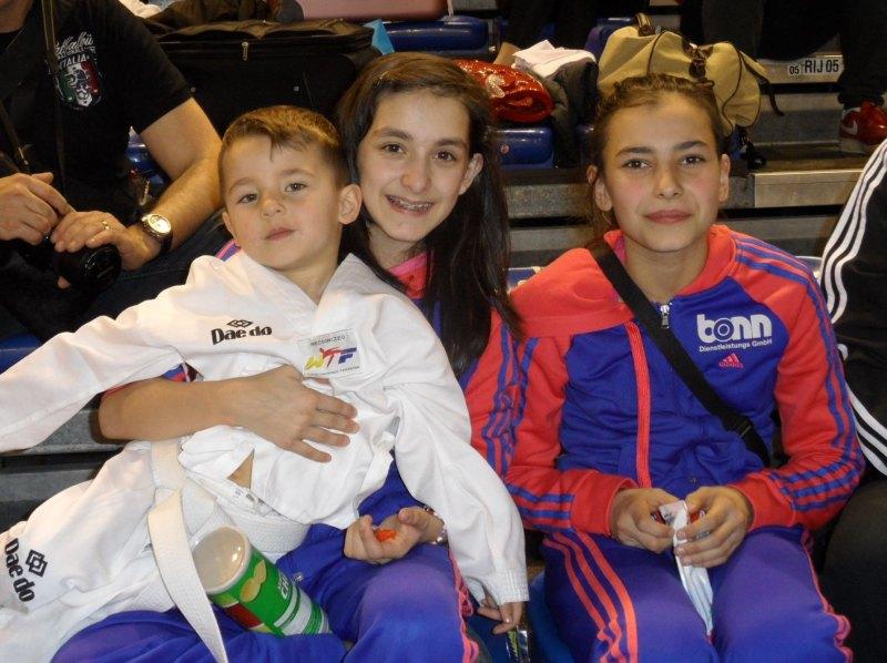 Dutch Open 2014 in Eindhoven - Aurelio Kaan Manz, Melanie Felix und Sebil Kaya