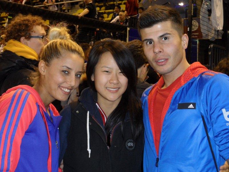 Dutch Open 2014 in Eindhoven - Sümeyye Manz, Yvette Yong und Tayfun Yilmazer