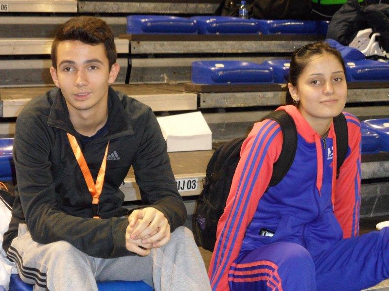 Dutch Open 2014 in Eindhoven - Stanislav Staykov und Burcin Kayhan