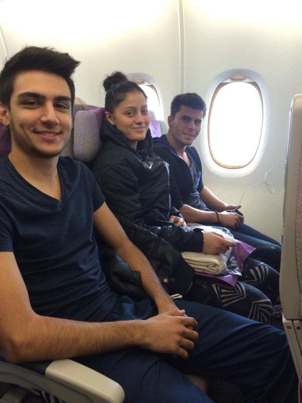 Fujairah Open 2014 in Fudschaira - Enes Acikel, Burcin Kayhan und Tayfun Yilmazer