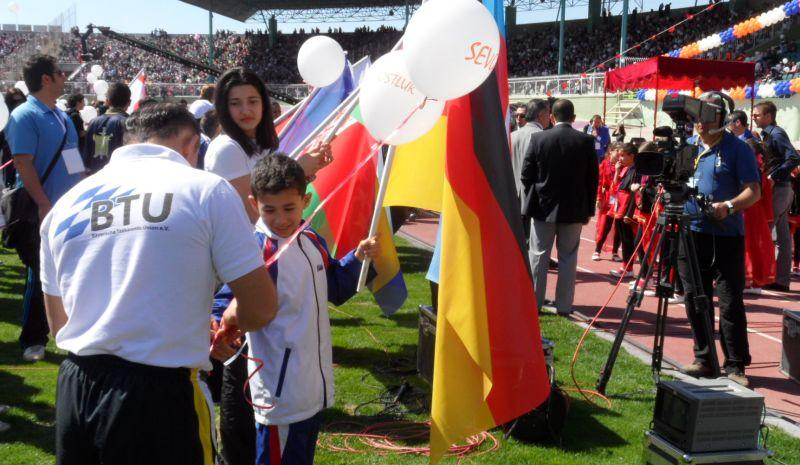 Internationales Kinderturnier Konya 2012 - Bild Abschlussfeier 2
