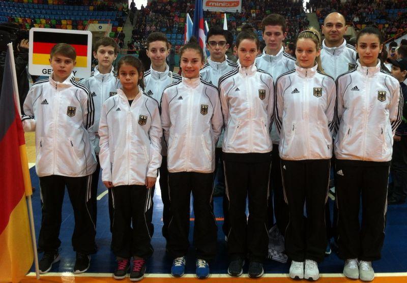 Internationales Kinderturnier Konya 2013 - DTU-Team