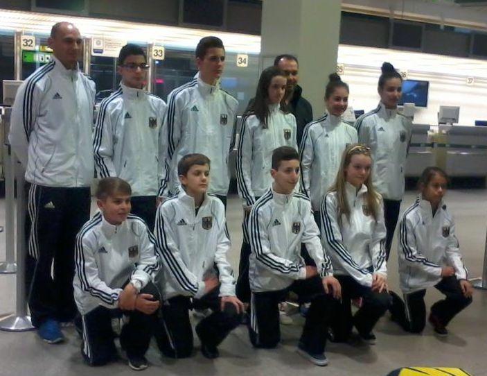Internationales Kinderturnier Konya 2013 - DTU-Team - Bild 2