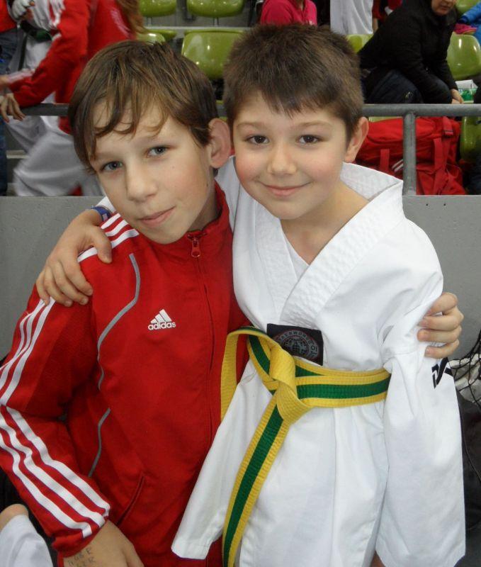 Internationales Kinderturnier Sindelfingen 2013 - Benjamin Metzger und Kaan Yaman