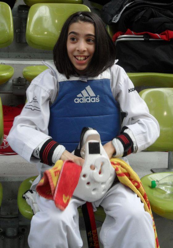 Internationales Kinderturnier Sindelfingen 2013 - Rahaf Saqr