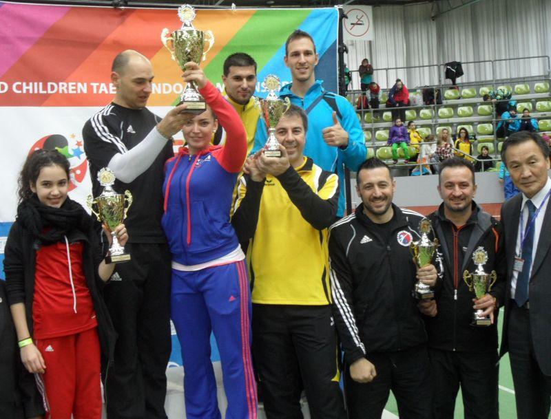 Internationales Kinderturnier Sindelfingen 2013 - Siegerehrung Mannschaftswertung