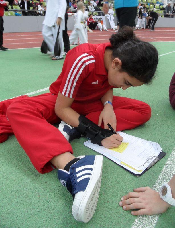 Internationales Kinderturnier Sindelfingen 2013 - Selina Öztürk