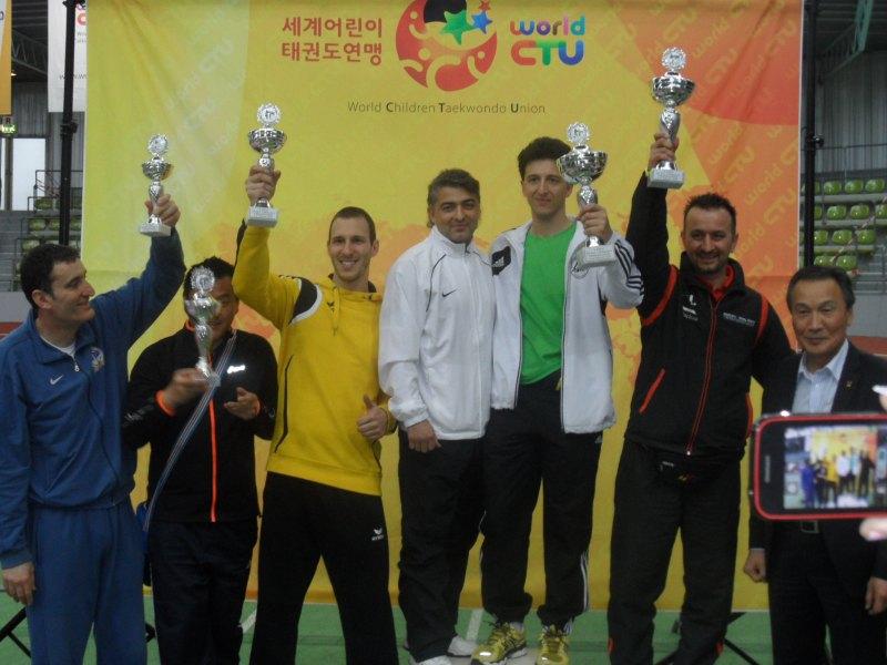 Internationales Kinderturnier Sindelfingen 2014 - Siegerehrung für die Vereinswertung