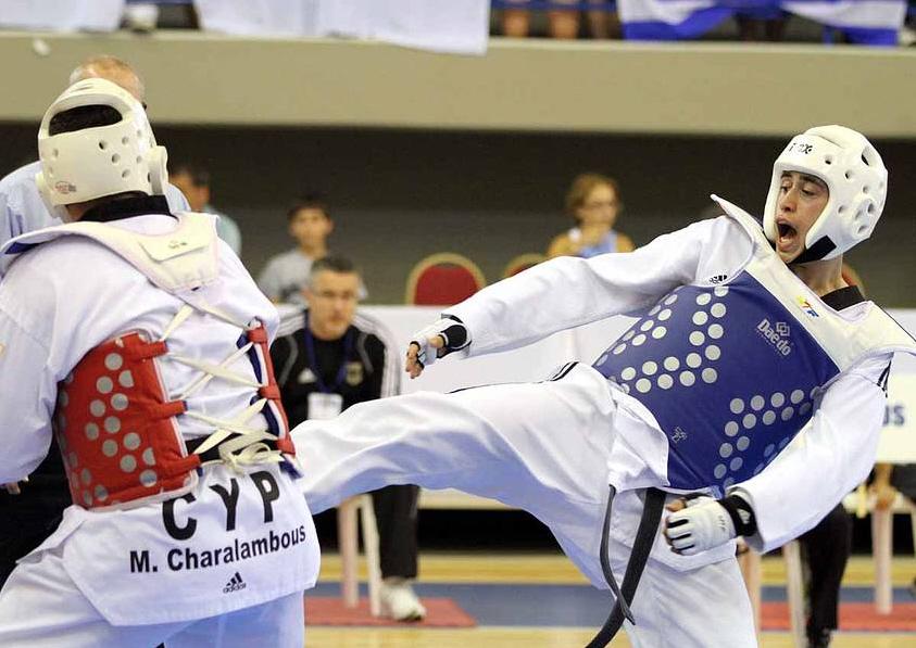 Jugend-EM 2011 - Erol im Wettkampf