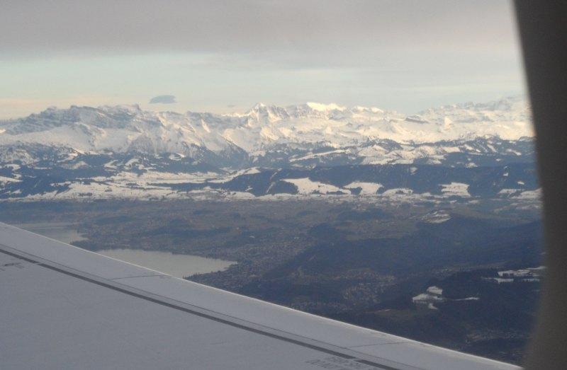 Flug von Zürich nach Madrid