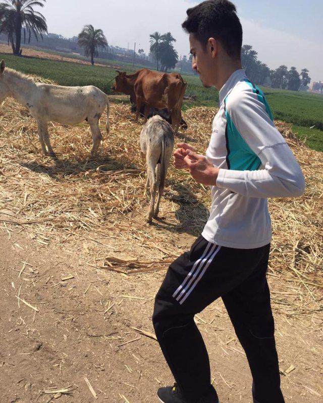 Luxor Open 2016 Luxor - Abdullatif Sezgin beim Laufen