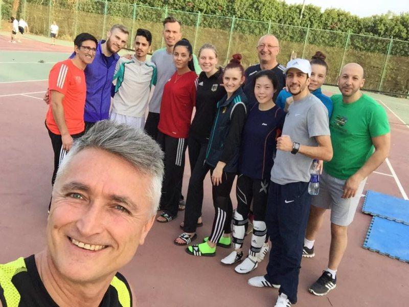 Luxor Open 2016 in Luxor - Das DTU-Team beim Training