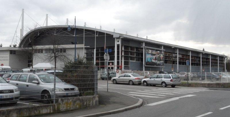 Open International d'Alsace 2014 in Schiltigheim - Die Wettkampfhalle